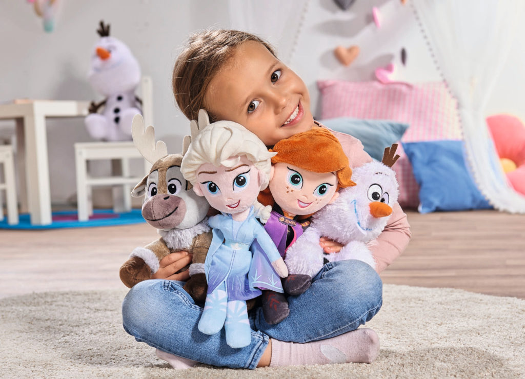 Frozen peluches Disney