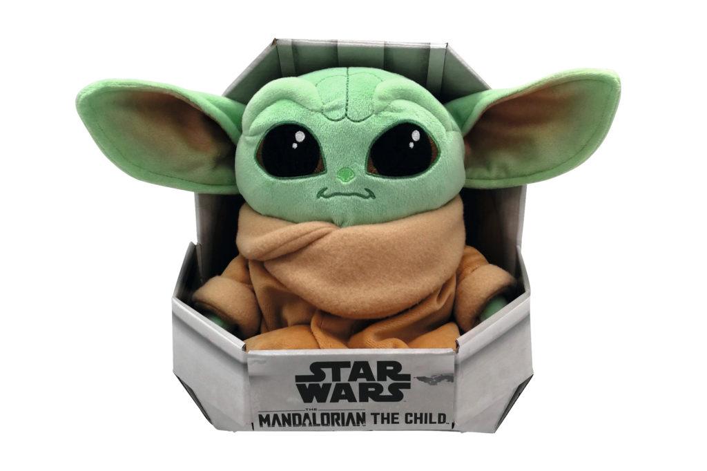 Peluche Baby Yoda 25 cm