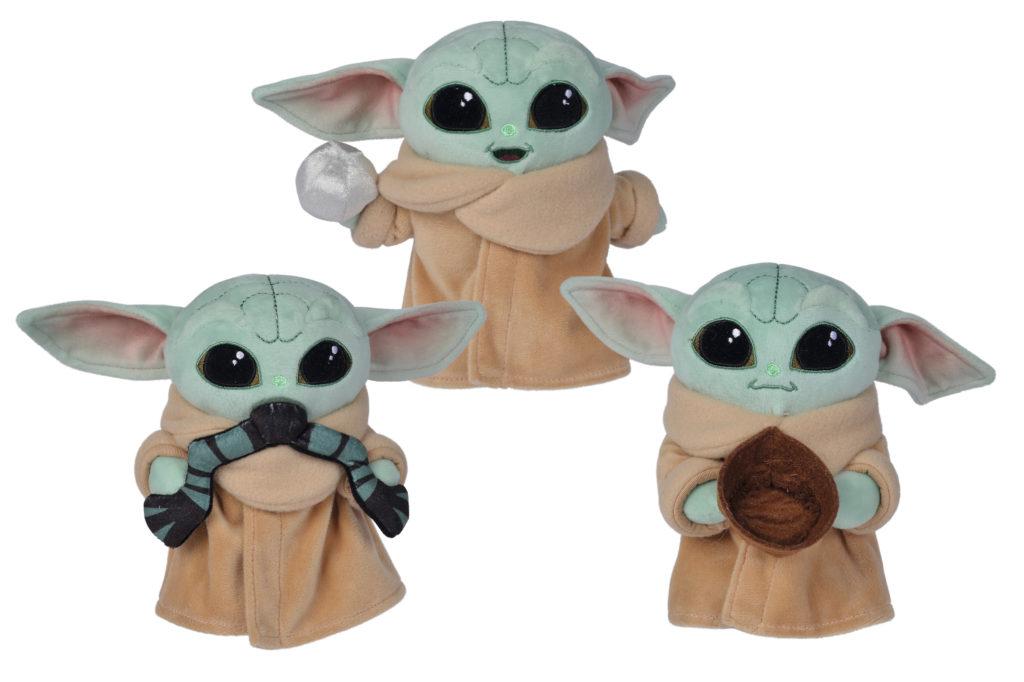 Peluches Baby Yoda surtidos