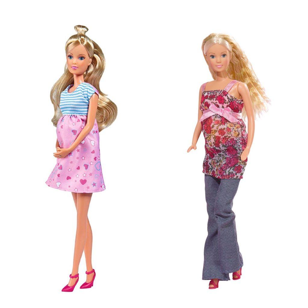 Steffi Love Embarazada, dos modelos