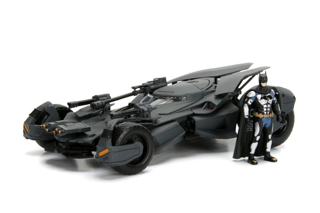 Batmóvil con figura de Jada