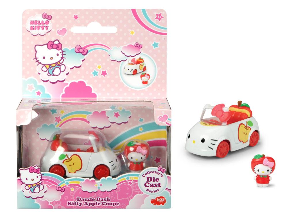 Vehículo Manzana con figura Hello Kitty