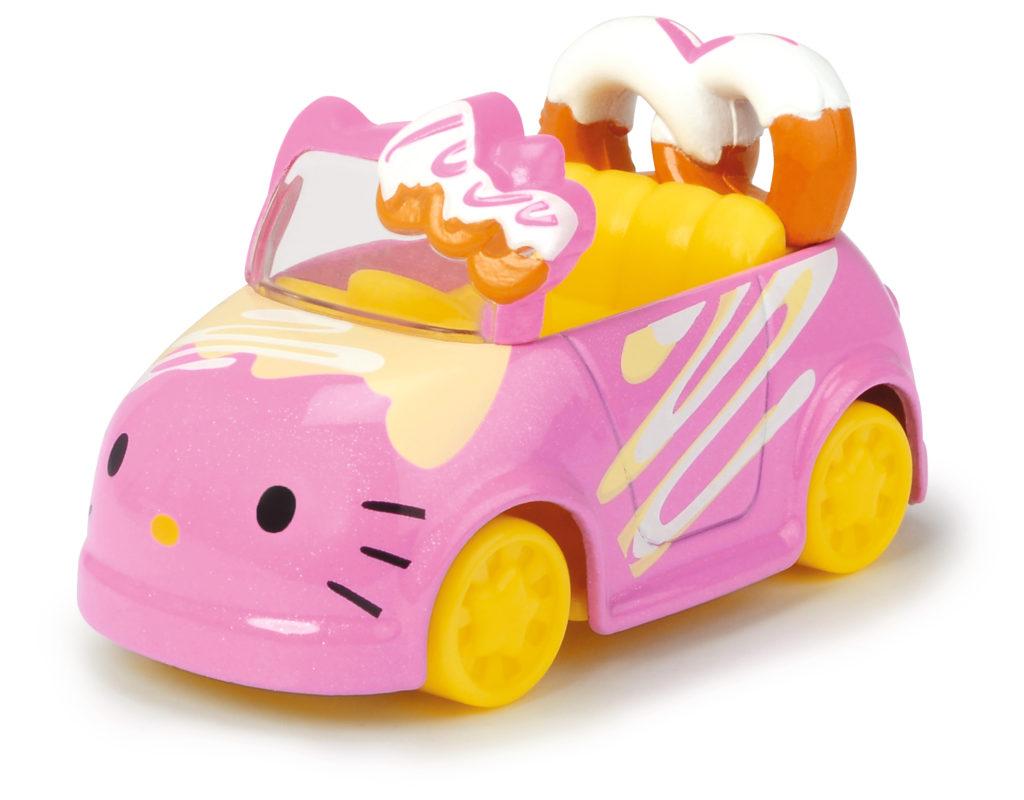 Vehículo Pretzel con Figura Hello Kitty